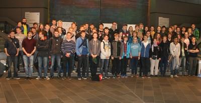Gruppenbild Schnupperstudium 2014