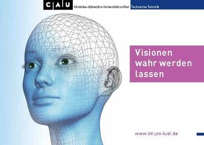 Postkarte Visionen wahr werden lassen