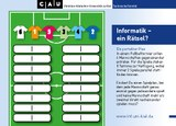 Rätselkarte Fussball