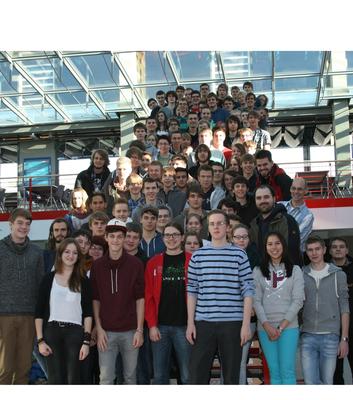 Gruppenbild Schnupperstudium 2013