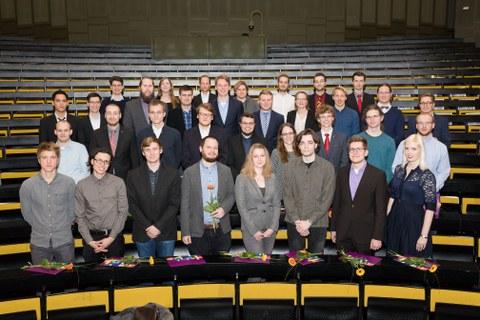 Absolventinnen und Absolventen 2017